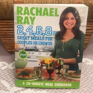 Rachael Ray Paperback Book 2- 4- 6 -8